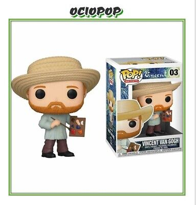 PRE-ORDER/ Vincent - Funko Pop Vincent Van Gogh #03 - Pop Artists
