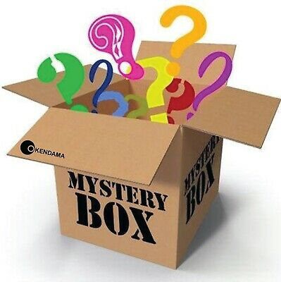 Mystery box New & Used electronics, computers, magic Tattoos, dvds, makeups