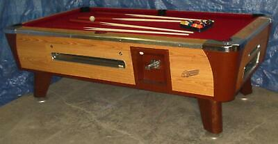 Dynamo 6 1/2' Coin-Op Bar Size Comm. Pool Table Completely Refurbished