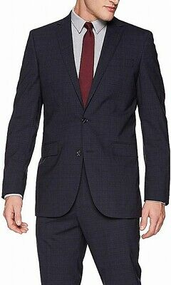 Kenneth Cole Mens Blazer Gray Size 38 Short Two-Button Notched $300- #274