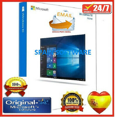 ✔️Windows 10Home✔32-64Bits✔️Clave-Licencia/10Original Entrega En 3 Segundos✔️