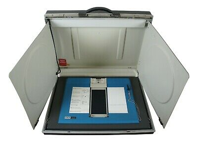 Vintage Hanging Chad VotoMatic IBM CES Portable Voting Station Booth Briefcase