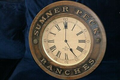 Sumner Peck Winery Vineyard Ranches Wall Clock - CA Central Valley