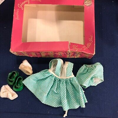 Vogue Ginny Doll  Tagged  Outfit In Box 1950's