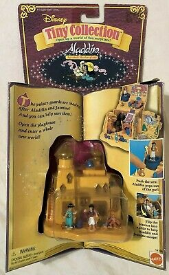 Disney Tiny Collection Aladdin Agrabah Marketplace Figure Playset NEW 14196 1995