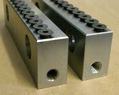 """605M3 Coiumbian vise jaws 10105S40  5/""""  M3 style jaws 205M3 505M3 5 1//8/""""Wide"""