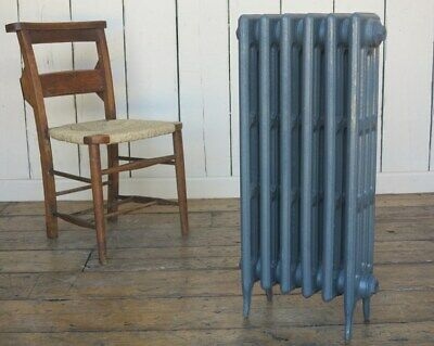 Victorian 4 Column 810mm Tall Cast Iron Radiator 6 Sections - Next Day Delivery