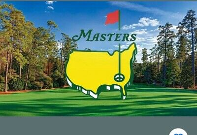 Two 2020 Masters Golf Tickets For Wednesday April 8 Par 3 Tournament