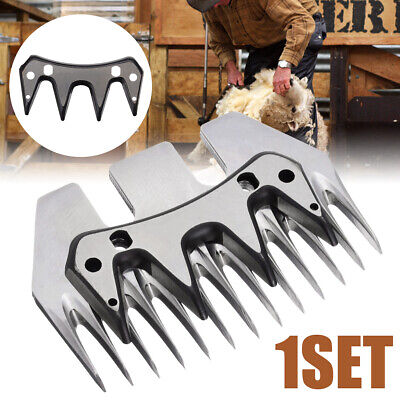 Stainless Steel Straight Blade Shearing Sheep Livestock Grooming Clipper