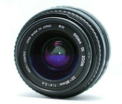 Sigma 35-80mm f/4.-5.6 Zoom Lens for Minolta from Japan.