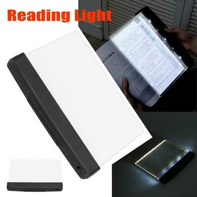 Reading Book LED Bright Light Portable Travel Night Vision Flat Panel Book Lamp