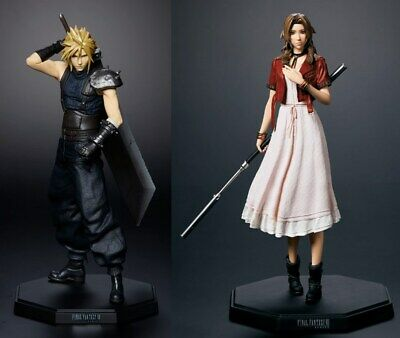 Final Fantasy VII FF7 Remake Lottery kuji Cloud Aerith figure 2set Square Enix