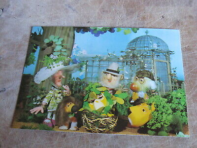 1960s Children's BBC TV postcard - The Herbs -Lady Rosemary, Dill, Sage, Parsley