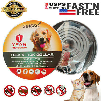 Dewel Cheaper than Seresto! Flea & Tick Collar for Medium Large Dogs Pets 1 Year