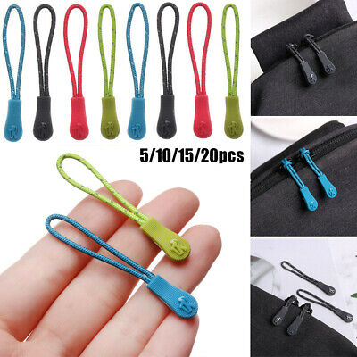 Outdoor Ends Lock Zips Cord Rope Pullers Zip Puller Replacement Zipper Pull