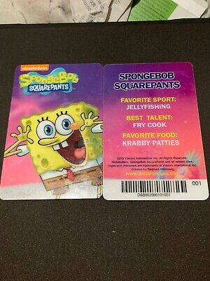 Spongebob Dave & Buster's Coin Pusher Single Card (SPONGEBOB)