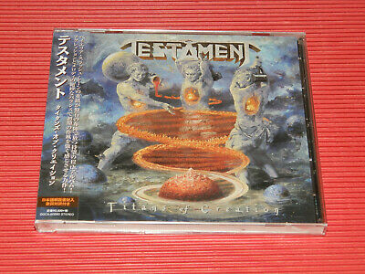 2020 Testament Titans Of Creation  Japan Cd