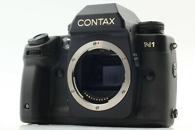 [Near Mint] Contax N1 35mm Film Camera Body Only SLR Black From Japan 09