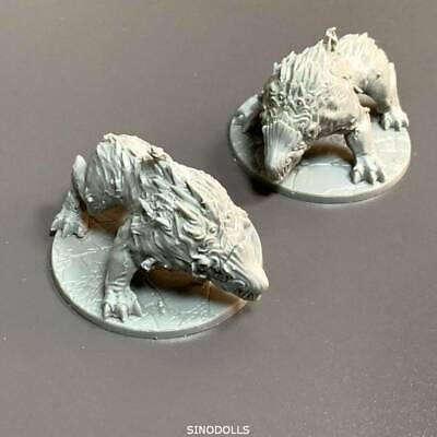 2PCS monster For Dungeons & Dragon D&D Nolzur's Marvelous Miniatures figure TOY