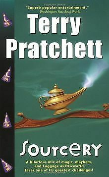 Sourcery (Discworld Novels) by Terry Pratchett | Book | condition good