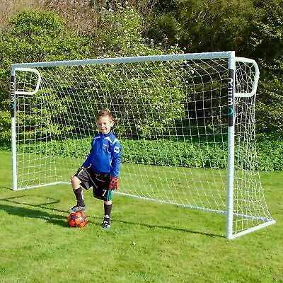 Rebo Steel Pro Football Goal Posts with Locking System Goals - 12 x 6FT Goal