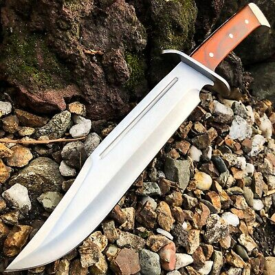"""15.5"""" WOODSMAN Rambo BOWIE Machete Tactical Survival Hunting KNIFE FIXED BLADE"""