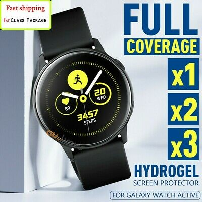 HYDROGEL FLEXIBLE Screen Protector For Samsung Galaxy Watch Active 2/1 40/42/44