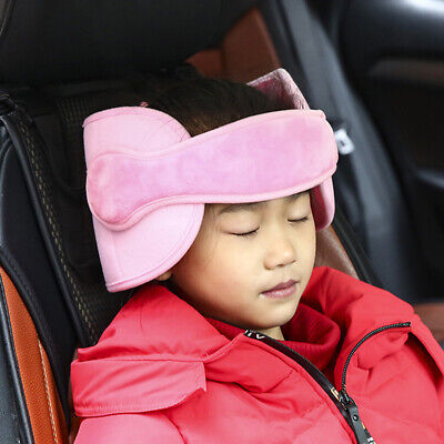 Car Seat Safety Adjustable Head Support Band Headrest Pillow For Children Kids