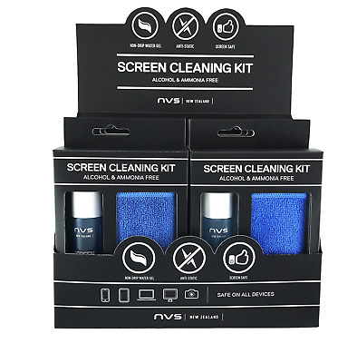NVS Screen Cleaning Kit (3 ml) 6-Pack Counter Display
