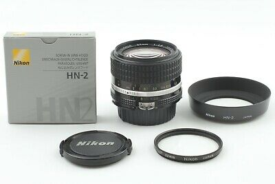 New Hood {EXC+5} Nikon Nikkor Ai-S 28mm f2.8 AiS Wide Angle Lens JAPAN #059f