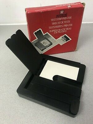 Paterson Test Strip Printer 4 x 5 Film Processing Darkroom equipment PTP653