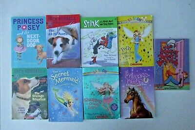 Lot of 11 Chapter Books for Boys and Girls