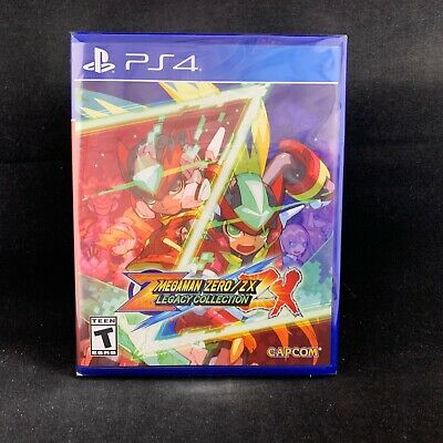 Mega Man  Zero/ZX Legacy Collection (PS4/PlayStation 4) BRAND NEW