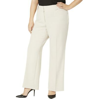 Alfani Womens Curvy Fit Office Career Trouser Pants Plus BHFO 5828