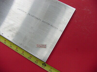 "3/8"" X 8"" ALUMINUM 6061 FLAT BAR 24"" long Solid T6511 Extruded Plate Mill Stock"