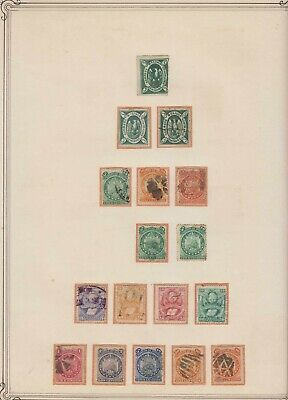 Bolivia 1867-1950 Ordnry, Air, Bob+ Collection 22 Album Pages 357 Stamps High Cv