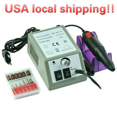 Fast Shipping Electric Nail Drill Manicure Tool Pedicure Machine File Set Kits