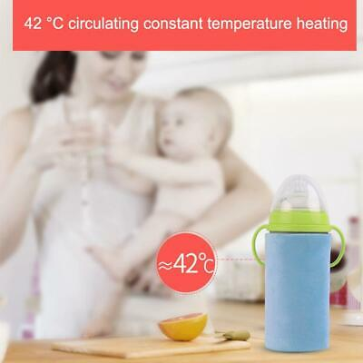 Portable Outdoor Thermostatic USB Feeding Bottle Insulation Sleeve Baby Child