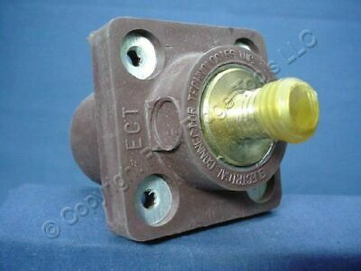 """New Leviton Brown 16 Series Cam Female Receptacle Panel Outlet 3/4"""" 400A 16R24-H"""