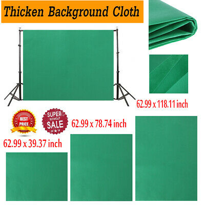 Green Cotton Photo Background Studio Photography Screen Chromakey Backdrop Cloth