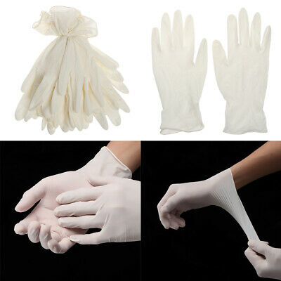 Household Lab Labor Protection Gloves Disposable Non-slip Latex Gloves