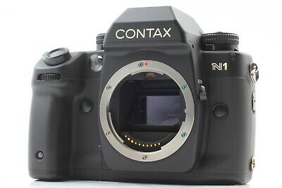 [Excellent+5] Contax N1 35mm Black SLR Film Camera Body Only From Japan 025