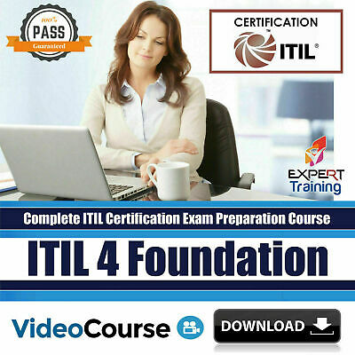 ITIL 4 Foundation Exam Preparation Video Course + Free Content - Cheapest