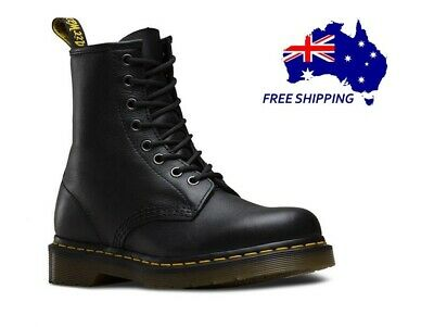 NEW-Dr.Martens women 1460 8 Lace Up Leather Boots Shoes-Soft Nappa-FREESHIPPING