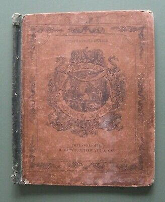 1855 Mitchell/Cowperthwait  Atlas with 24 Maps & 9 pp. of Geograh.& Stat.Tables