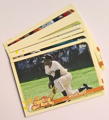 2020 Topps Opening Day Baseball SPRING HAS SPRUNG Inserts (Pick Your Own)