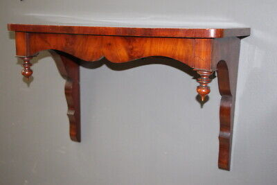 Good antique wall bracket console hall table French Regency stand original 1845