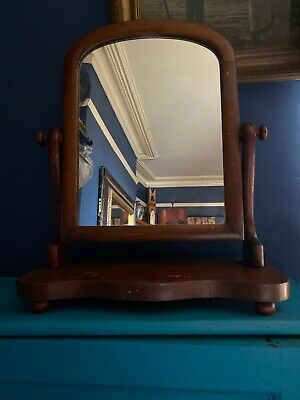 Vintage Antique Dressing Table Mirror Freestanding