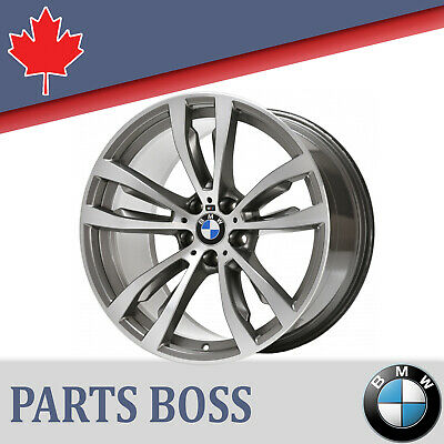 BMW X5 X6 OEM REMANUFACTURED 10J x 20 inch FRONT MAG WHEEL M 36117846790 7846790