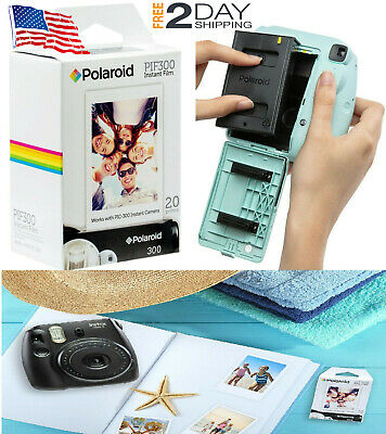20 Polaroid PHOTO PAPER PIF300 INSTANT FILM Fujifilm Instax Mini PIC 300 Camera